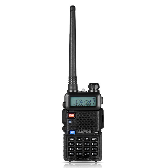 BF UV5R Walkie talkie Manual Frequency Modulation 10KM Communication Distance 5W Power UV Dual frequency Security Walkie Talkie