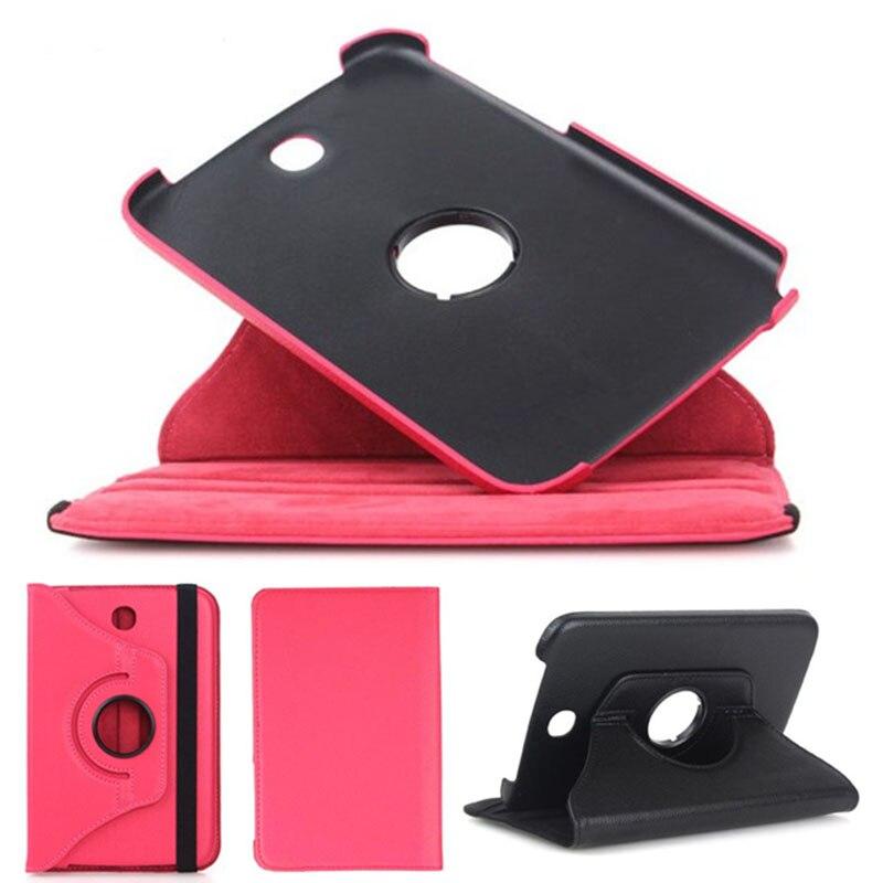 Per Samsung Galaxy Note 8.0 N5100 SM-N5100 N5110 N5120 8 pollice Tablet Caso 360 Girante Staffa Del Basamento di Vibrazione Della Copertura del Cuoio