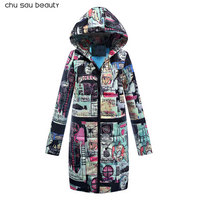 2018 Women Cotton Winter Jacket Long Parka Thick Cotton Padded Lining Winter Coat Ladies Women Plus Size Parkas