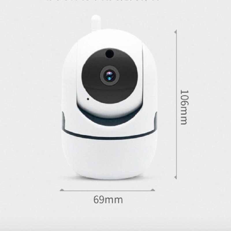 wdskivi Intelligent Track 1080P Cloud IP Camera Face Recognition Security  Baby Monitor WiFi Wireless Camera Mini Indoor Camera