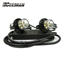 VS-S62 LED Hide away warning light (2 heads),  TIR-6 1W LED headlight, 100% Waterproof, 25 flash patterns, interior light