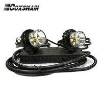 VS S62 led esconder afastado luz de advertência (2 cabeças)  TIR 6 1 w led farol  100% impermeável  25 padrões de flash  luz interior|headlights headlight|headlight led|flash flash -