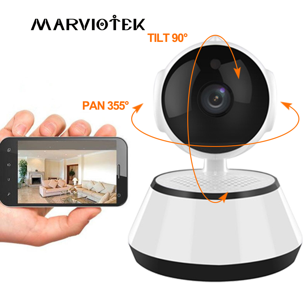 MARVIOTEK Home Security IP Camera Wireless Mini CCTV Camera