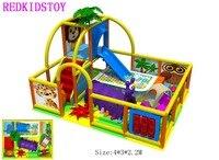 Детский Крытый игровая площадка оборудование CE сертифицированный детский игровой центр HZ 6325A