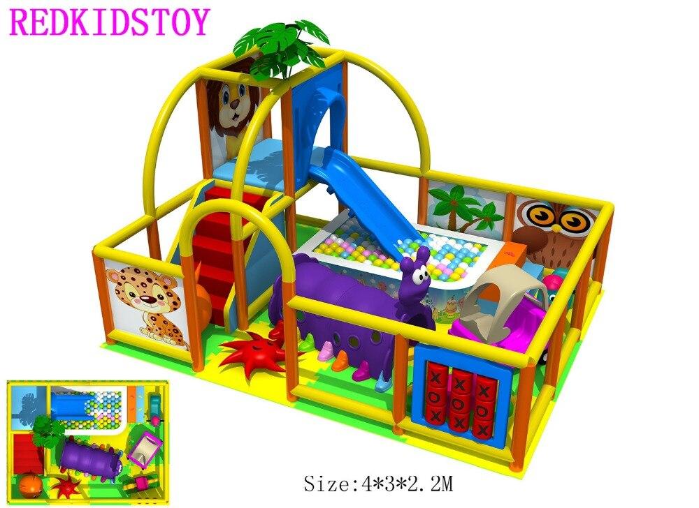 Pépinière enfants équipements de jeux d'intérieur CE certifié enfants jouer Center HZ-6325A