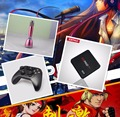 1 Unidades EVpad Pro IPTV Taiwán/Coreano/Japonés/Malasia/HongKong Android TV BOX + K086 Bluetooth micrófono + X9 Bluetooth Gamepad