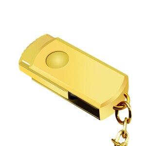 Image 5 - Pen Drive in Metallo Rosa Usb Flash Drive Portachiavi Usb Bastone Ad Alta Velocità di Memoria Pendrive Del Bastone 32 Gb 16 Gb 64 Gb 8 Gb di Memoria Usb 2.0 Regalo