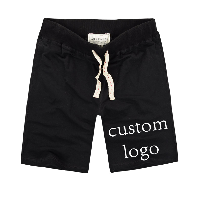 Customized Men Shorts Print Your Own Design For Casual Short 100%Cotton Pantalon Corto Hombre Custom Korte Broek Mannen Designer