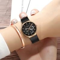 Women Stainless Steel Ultra thin Waterproof Watch LIGE Top Brand Luxury Women Watches Casual Fashion Watch Ladies Bracelet Watch