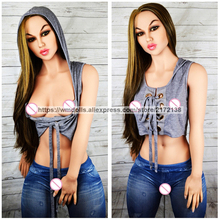 WMDOLL 160cm Sex Anime Silicone Dolls Real Adult Robot Dolls Big Breast Ass Artificial Vagina Sexy Toys For Men