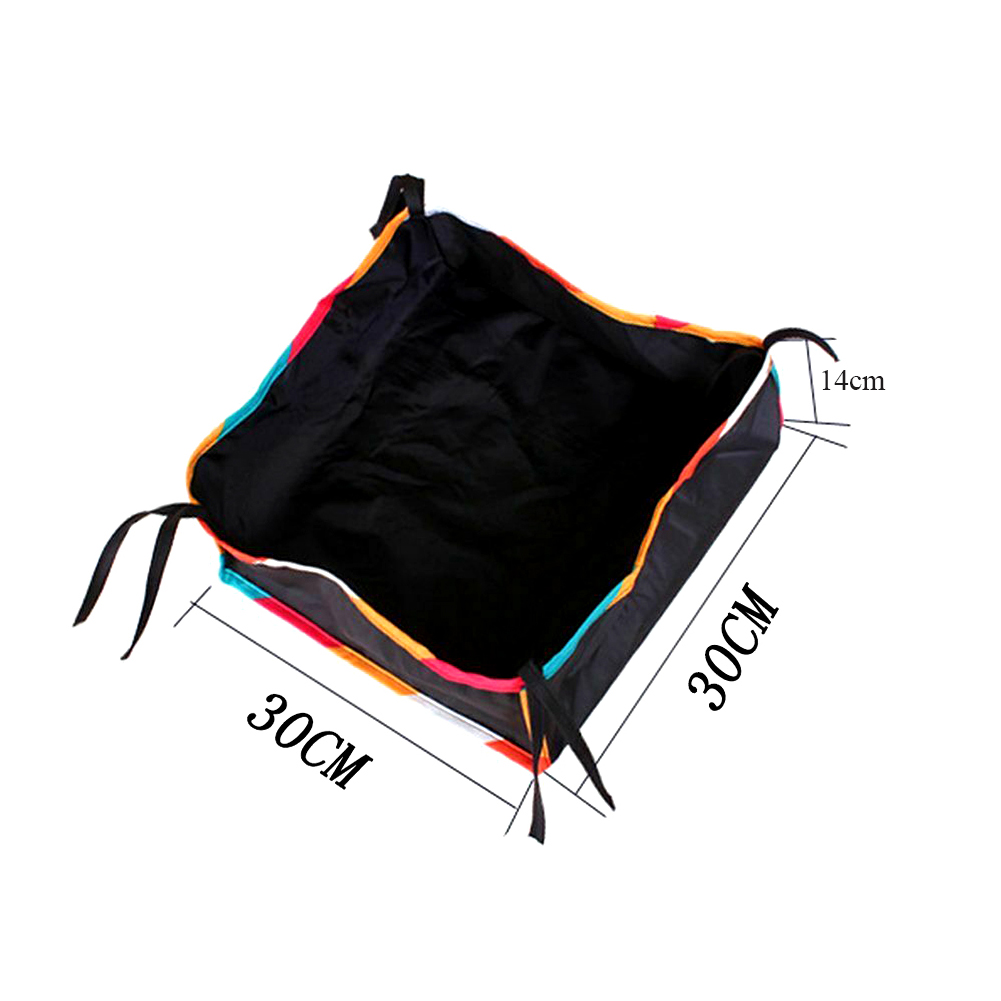 Уличная Нижняя корзина для дома, повседневный органайзер для детской коляски, большая вместительность, сумка для хранения коляски, аксессуары для покупок