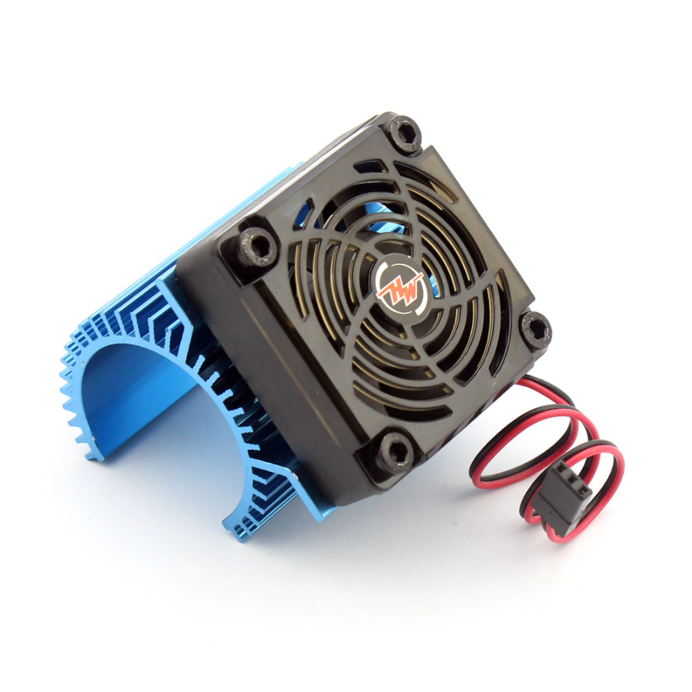 Hobbywing EZRUN Motor Combo C1 Motor Heat Sink + 5V Fan Hobbywing 2S for 3660 3665 3674 1/8 RC Car Brushless Motor hobbywing ezrun max8 v3 t trx plug waterproof 150a esc brushless esc 4274 2200kv motor led program card for 1 8 rc car crawler