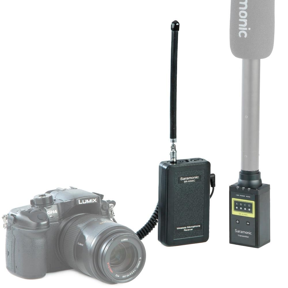 Šaramonski SR-WM4C kamera bežični Lavalier Mikrofon sustav - Prijenosni audio i video - Foto 5