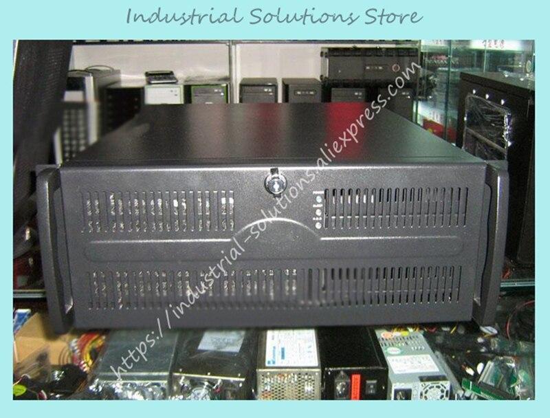 Nouveau 4U coque d'ordinateur 4U Serveur coque d'ordinateur Ceinture 7 Ventilateur 1.22mm 650mm