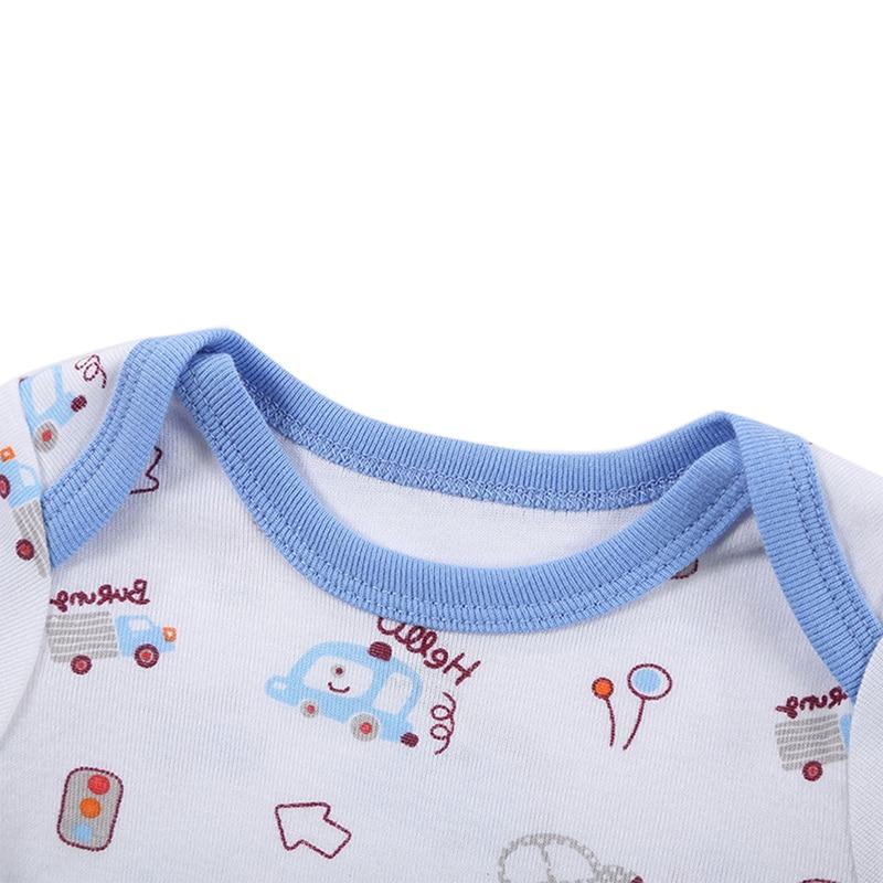 Kūdikių mergina berniukas Romper Naujagimis kūdikis Trumpas - Kūdikių drabužiai - Nuotrauka 4