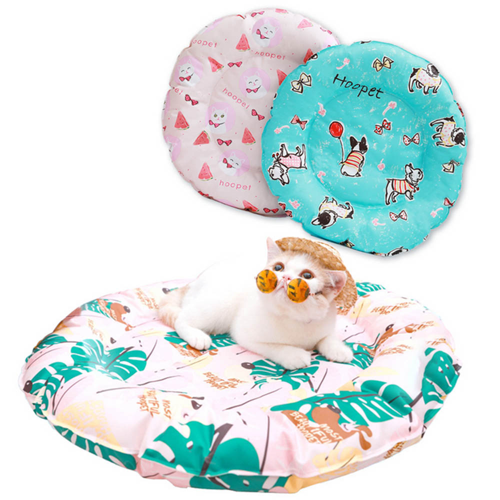 Pet Dog Bed Mats Summer Cooling Mats Blanket Ice For Dogs Cats Sofa Portable Sleeping Pets Accessories