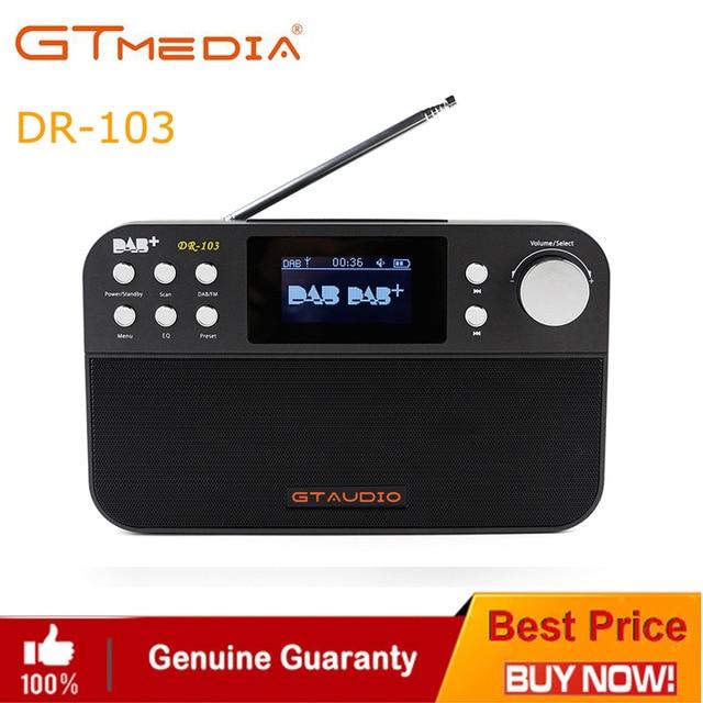 Tragbares Audio & Video Zielsetzung Freesat Dr-103b Dab Empfänger Tragbare Digitale Dab Fm Stereo Radio Rezeptor Mit 2,4 Zoll Tft Schwarz Weiß Display Alarm Uhr Unterhaltungselektronik