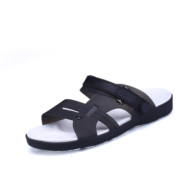 d8617bbacd38d7 Summer Slippers Men Casual Leisure Soft Slides Eva Massage Beach Slippers  Water Shoes Men s Sandals Flip Flops Soft bottom