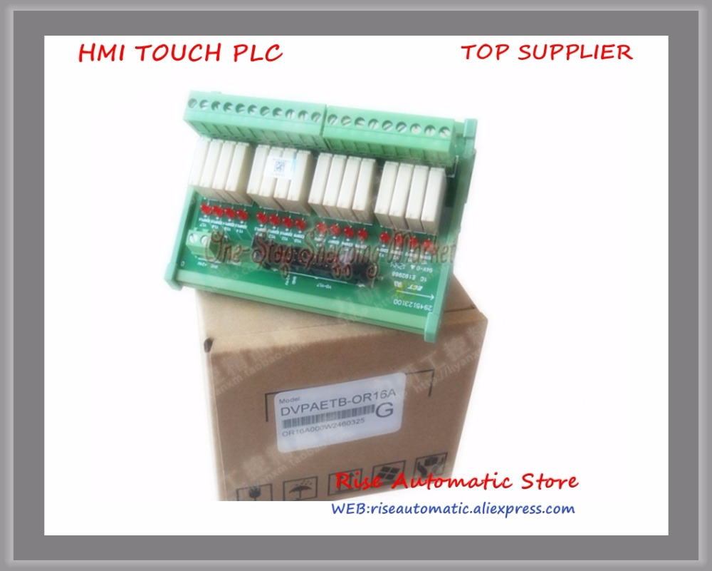 New Original Programmable Controller Module 16 point relay terminal station DVPAETB-OR16A цены