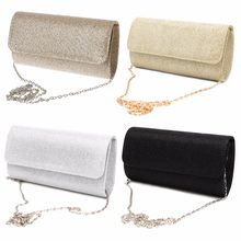 Thinkthendo bolsa de mão feminina para festa, de ombro, noite, baile, casamento, formatura