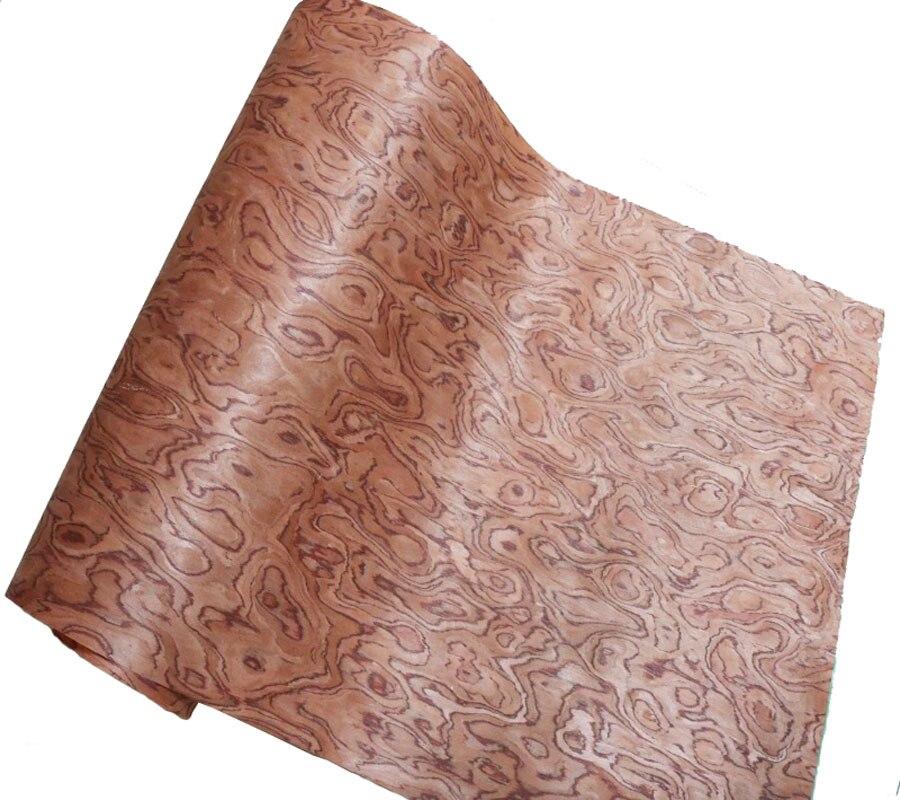 1Pieces L:2.5Meters Wide:55cm Thickness:0.25mm Spherical Rosewood Veneer Skin Furniture Speaker Wood Veneer