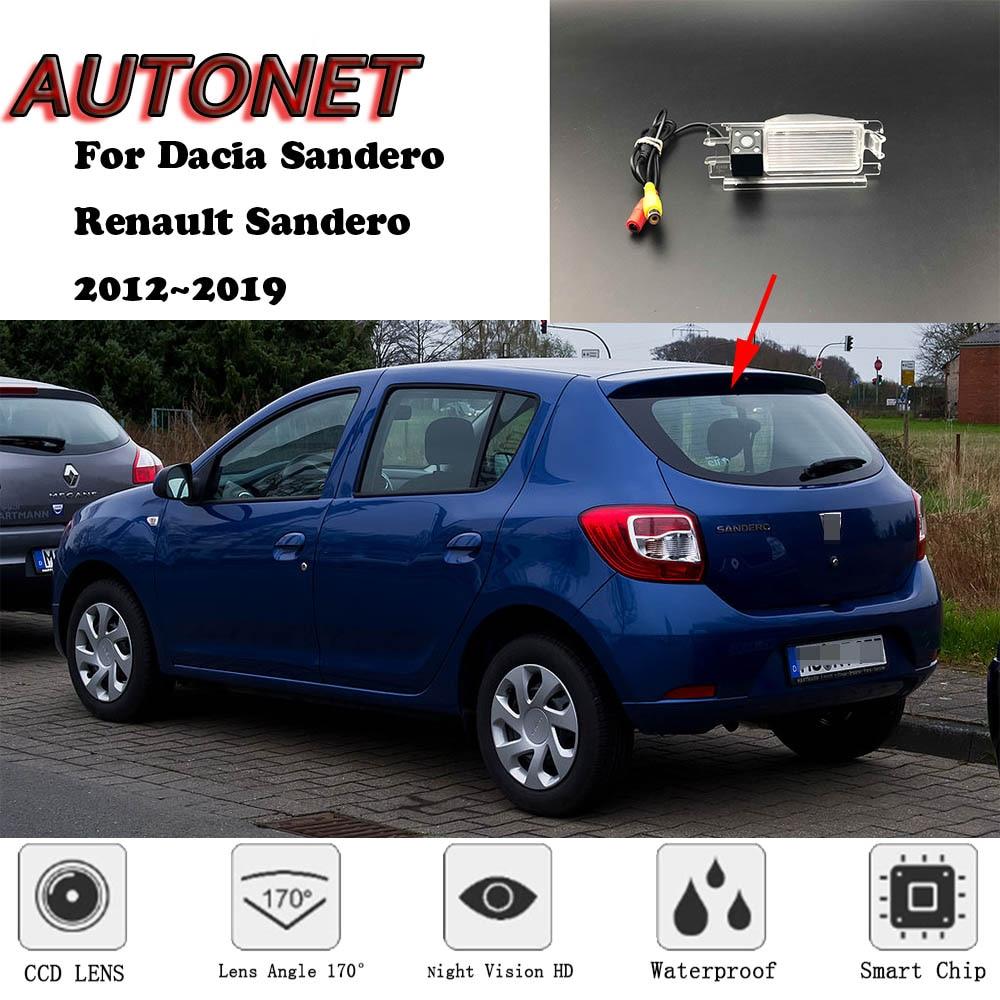 AUTONET Backup Rear View Camera For Dacia Sandero / Renault Sandero 2012~2019 /parking Camera Or Bracket