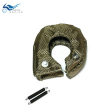 Titanium Turbo Blanket Heat Shield Cover T3 TurboCharger Lava Turbocharger Blanket Cover