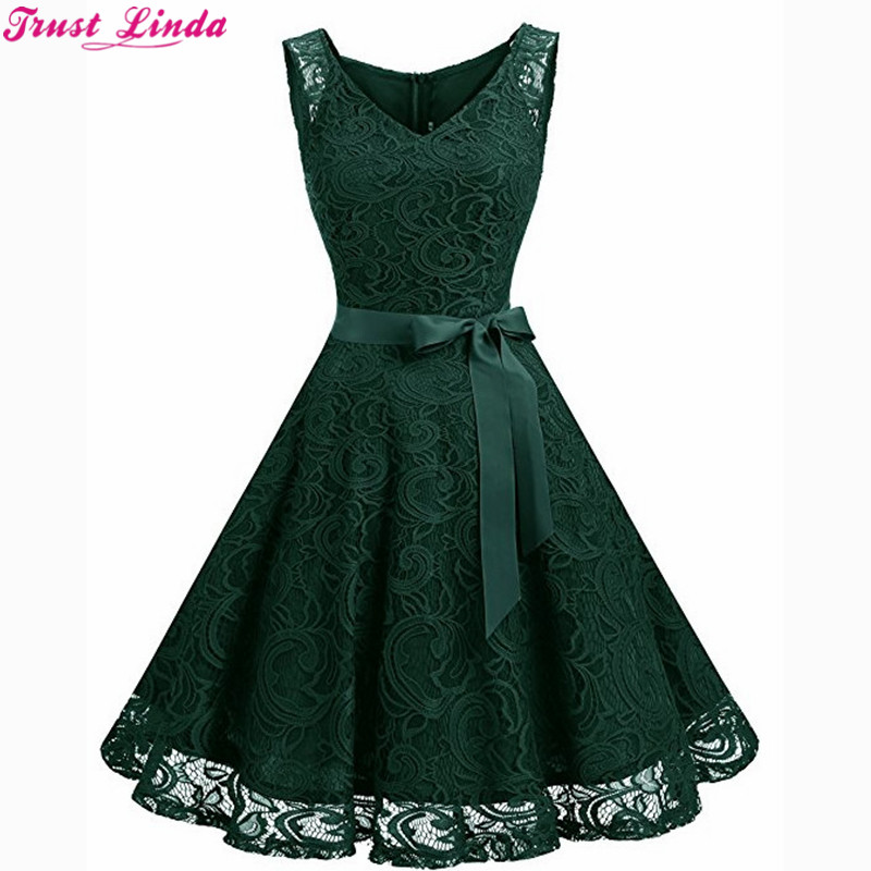 Sexy Green Lace Short   Bridesmaid     Dresses   The Bride Party Gowns Custom Size Formal Prom   Dress   Real Simple Cheaper Wholesale
