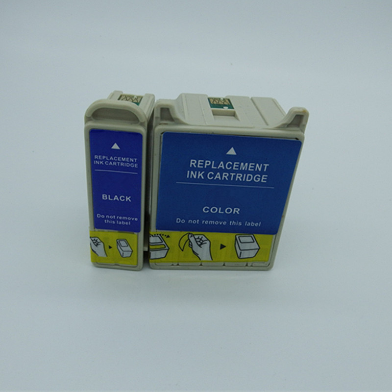 T066 T067 E-066 E-067 Ink Cartridges Replacement  Stylus C48 Inkjet Printer