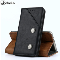 AKABEILA Luxury Cases For Vernee M5 Case 5 2 Inch Retro Leather Back Covers Housing Bag