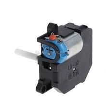 Квадратный микро DC мотор коробка передач для DIY модели изготовления многоцелевой ручной S08 и Прямая поставка
