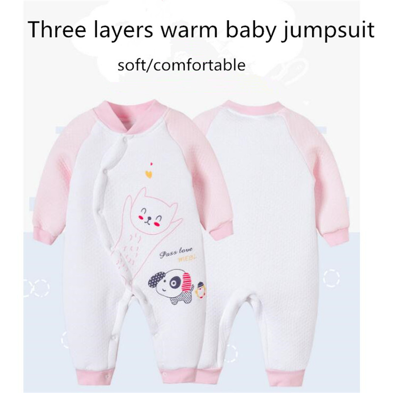 SexeMara 0-2Y Cotton Baby Clothes Clothing Jumpsuits Romper Costumes Overalls Children's Winter For Newborns Girls Boys Clothing cotton baby rompers set newborn clothes baby clothing boys girls cartoon jumpsuits long sleeve overalls coveralls autumn winter