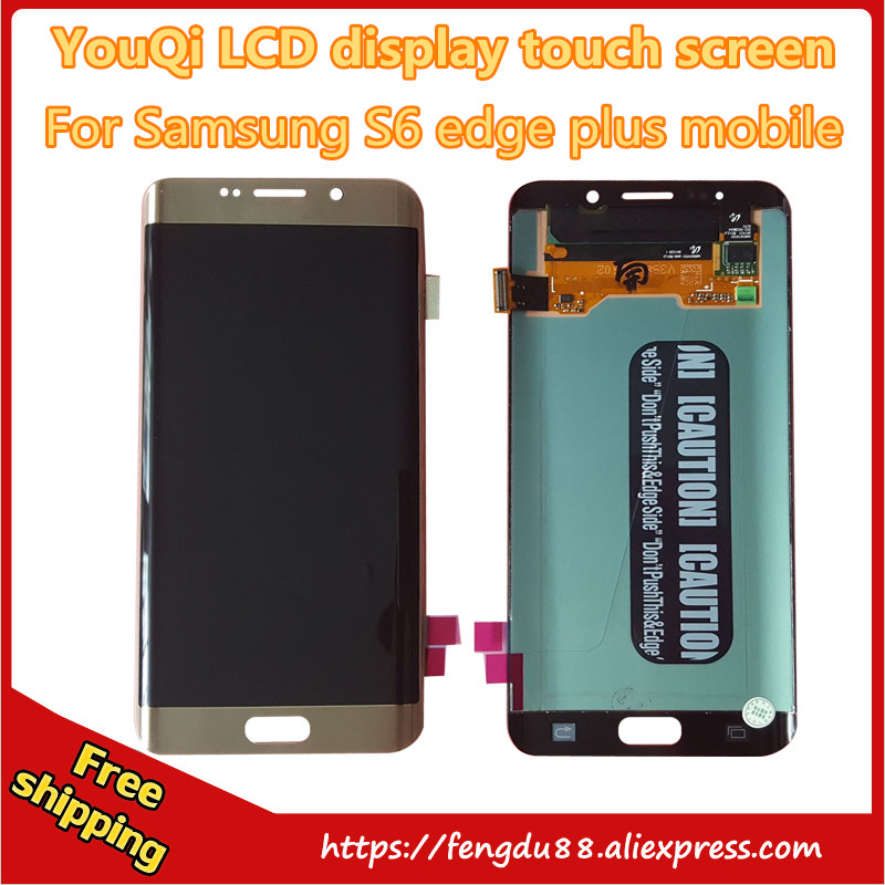 YouQi LCD 100% Original test good work for Samsung Galaxy S6 Edge Plus g928f g928v G928a G928p g928fd LCD display touch screen