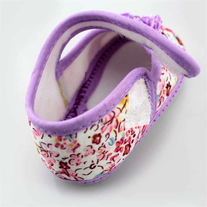 แรกวอล์กเกอร์สาวดอกไม้รองเท้าเด็กวัยหัดเดินรองเท้าฤดูใบไม้ผลิฤดูใบไม้ร่วงเด็กรองเท้า 2018