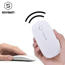 2.4ghz Wireless Mouse Ultra Slim USB 1600 DPI Optical Wireless Computer Mini Scroll Wireless Mouses For PC Laptop