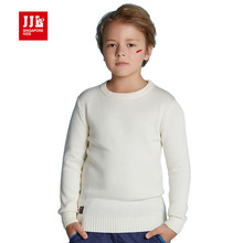 winter boys sweater kids pullover kids knitted sweater kids clothes solid color children tops 2017 white thick sweater
