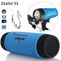 Zealot S1 Bluetooth Speaker Wireless Portable Speakers Power Bank FM TF LED Light For Outdoor Sport+Bicycle Mounting Bracket