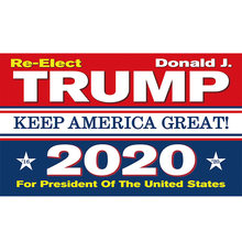 Trump 2020 Flag Digital Print DONALD TRUMP Keep America Again 2020 flag 90x150cm polyester banner with 2 Metal Grommets 3x5ft(China)