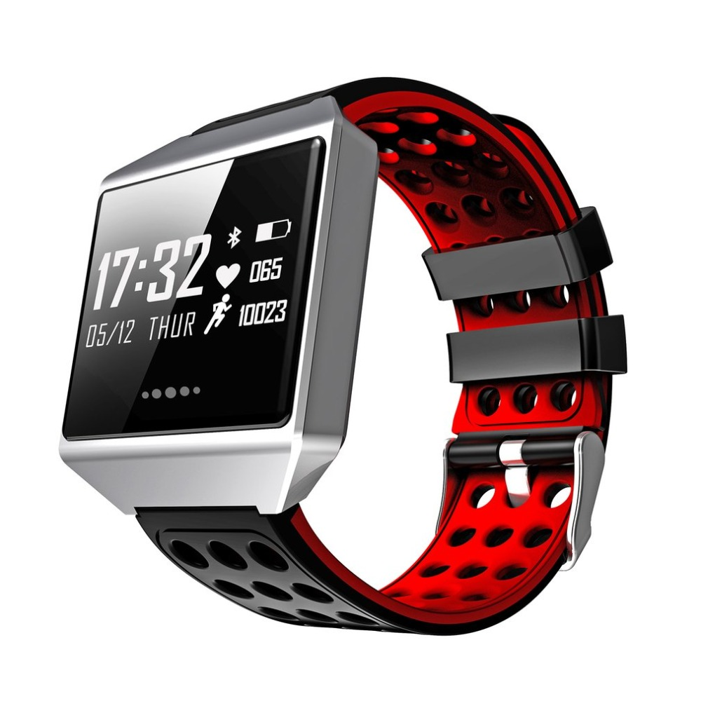 CK12 Smart Watch Blood Pressure Heart Rate Monitor Pedometer Bracelet Remote Camera IP67 Waterproof Bluetooth Sports Watch