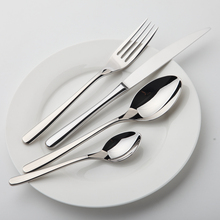 Уютная зона столовая посуда набор из нержавеющей стали Посуда роскошный набор столовых приборов винтажное качество 24 шт. нож вилка обеденный ужин набор Западный