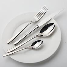 Geschirr Set Stahl Luxus Besteck Vintage Qualität 24 Stück tabelle Messer Gabel Löffel Dining Set Geschirr Westlichen Speisen salat
