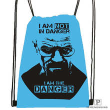 Custom breaking_bad Drawstring Backpack Bag Cute Daypack Kids Satchel (Black Back) 31x40cm#2018611-1