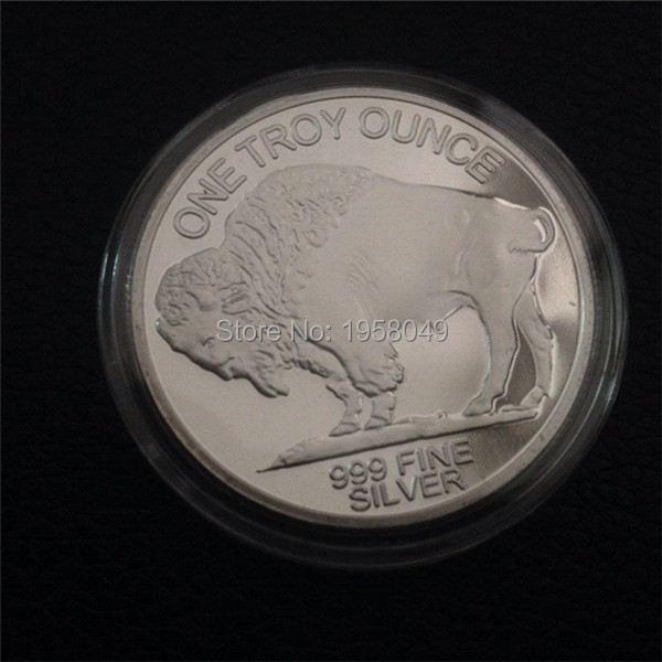 Non Mangetic American Liberty One Troy Ounce 999 Fine