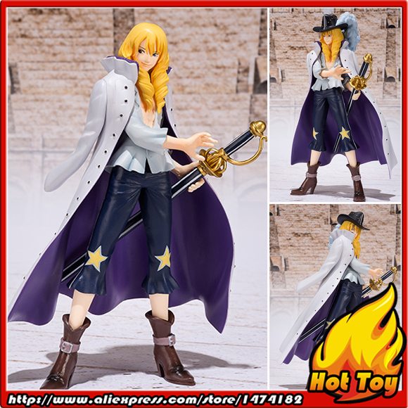"100% Original BANDAI Tamashii Nations Figuarts ZERO Exclusive Collection Figure - Cavendish from ""ONE PIECE"