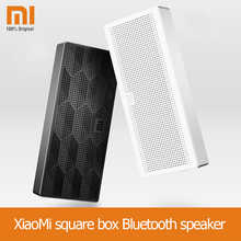 Xiaomi Mi Bluetooth Speaker Portable Wireless Mini Square Box HiFi Bluetooth 4.0 Speaker for IPhone and Android Smart Phones
