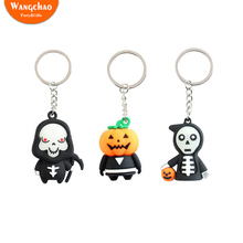 Cute Cartoon Death Figure Solid Halloween Gift for Friends Personality Key Link Party Supplies DIY Decoration