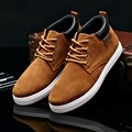 2017 Leather Shoes Men Summer Style New Brand Men Fashion Shoes Casual Rubber Lace up Shoes Men Classic Zapatillas Hombre N34