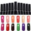 Venta caliente 8 ml 36 Colores Empapa Del Gel Esmalte de Uñas de Gel UV Lámpara Necesaria Herramienta de La Belleza Del Arte Del Clavo