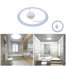 18W LED Ring Panel Circle Light AC220V 36leds SMD 5730 LED Round Ceiling Board Pure White Circular Lamp Board sk6812 ring ws2812b ring full color rgbw small circle 5v built in point control circular ring lamp board