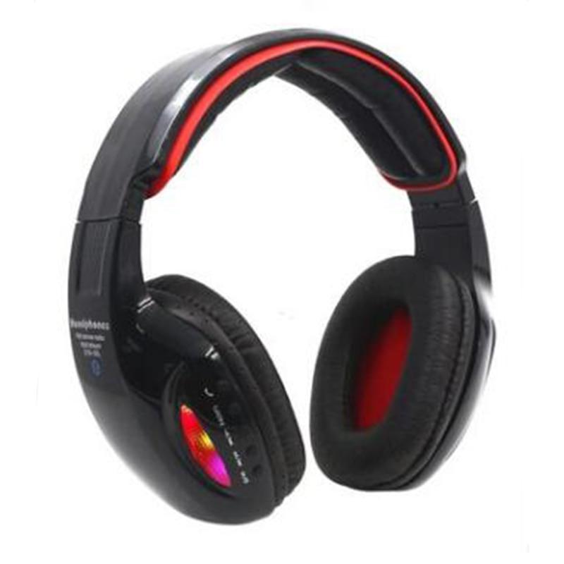 Portable STN-05L Cobra Style Wireless Bluetooth Headphone LED Light Glowing Casque Headset Sport Earphone For iPhone Samsung kicx stn 652